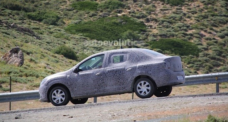 Spyshots: Dacia Logan with Less Camo