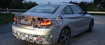 Spyshots: F22 BMW 2 Series Coupe Seen Testing