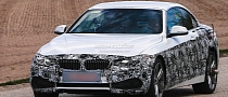 Spyshots: F33 BMW 4 Series Convertible Shows New Metal Roof