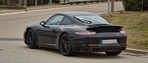 Porsche Spied Testing 911 Facelift, a GTS [Photo Gallery]