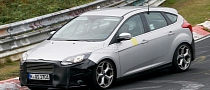 Spyshots: Ford Focus ST Facelift at Nurburgring