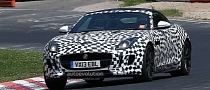 Spyshots: Jaguar F-Type Coupe Testing at Nurburgring