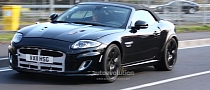 Spyshots: Jaguar XE on the Nurburgring