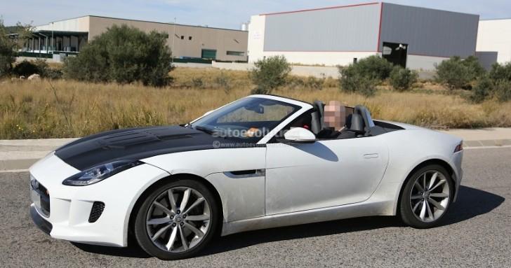 spyshots jaguar working on 4 cylinder f type autoevolution. Black Bedroom Furniture Sets. Home Design Ideas
