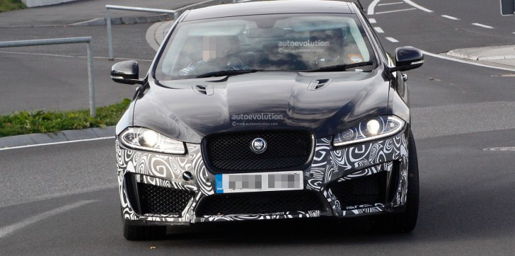 Spyshots: Jaguar XFR-S Gets a Wing