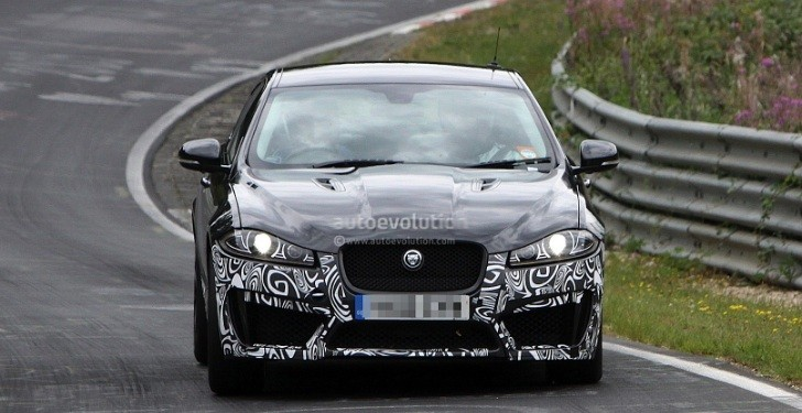 Spyshots: Jaguar XFR-S Production Car!