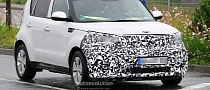 Spyshots: Kia Soul EV to Debut in 2014