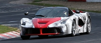 Spyshots: LaFerrari Can't Get Enough Track Action