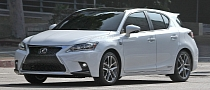 Spyshots: Lexus CT 200h F Sport Gets Spindle Grille