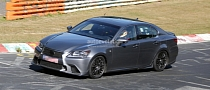 Spyshots: Lexus GS F Performance Sedan Prototype Features TRD Parts