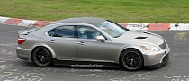 Spyshots: Lexus LS in Super-Sporty Form on the Nurburgring
