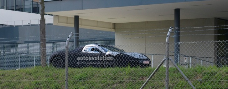 Spyshots: McLaren F1 Successor (P12) First Shots