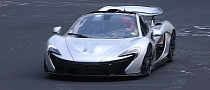 Spyshots: McLaren P1 XP2R Prototype Spotted for First Time