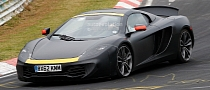 Spyshots: McLaren P13 Testing as MP4-12C Mule