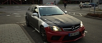 Spyshots: Mercedes-Benz C63 AMG Estate Black Series