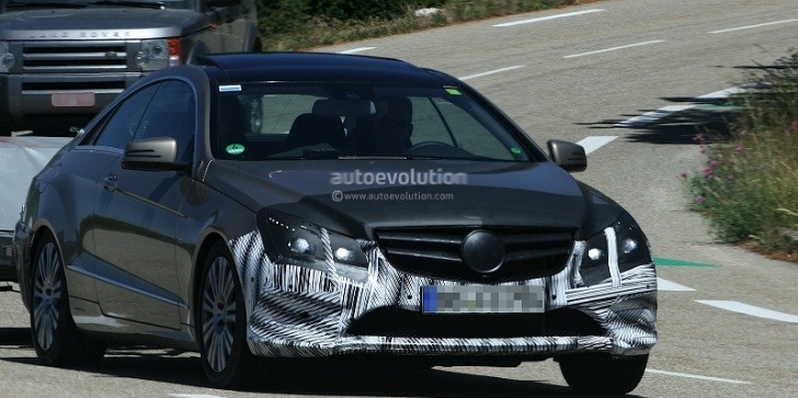 Spyshots: Mercedes Benz E-Class Coupe Facelift