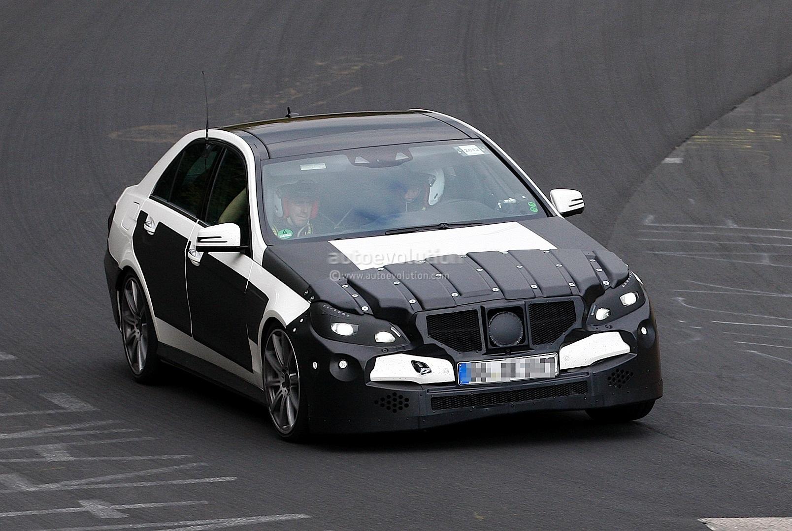 spyshots mercedes e63 amg facelift autoevolution