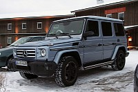 Mercedes G55 AMG Facelift and G65 AMG spyshots