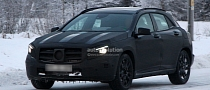 Spyshots: Mercedes GLA Crossover Winter Testing