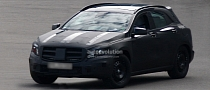 Spyshots: Mercedes GLA First Photos