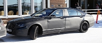 Spyshots: Mercedes S-Class 600 Pullman First Photos