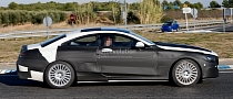Spyshots: Mercedes S-Class Coupe With Less Camo