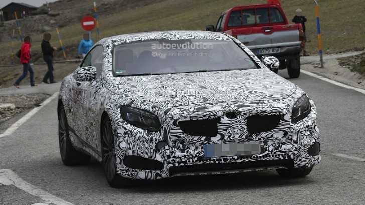 Spyshots: Mercedes S63 AMG Coupe First Images