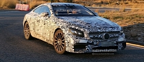 Spyshots: Mercedes S63 AMG Coupe Sheds Some Camo
