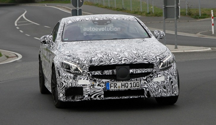 Spyshots: Mercedes S63 AMG Coupe Spotted in Germany