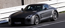 Spyshots: Mercedes SLS AMG Black Series