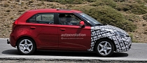 Spyshots: MG3 Coming to Europe!