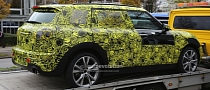 Spyshots: MINI's All-New MPV Has 6 Doors