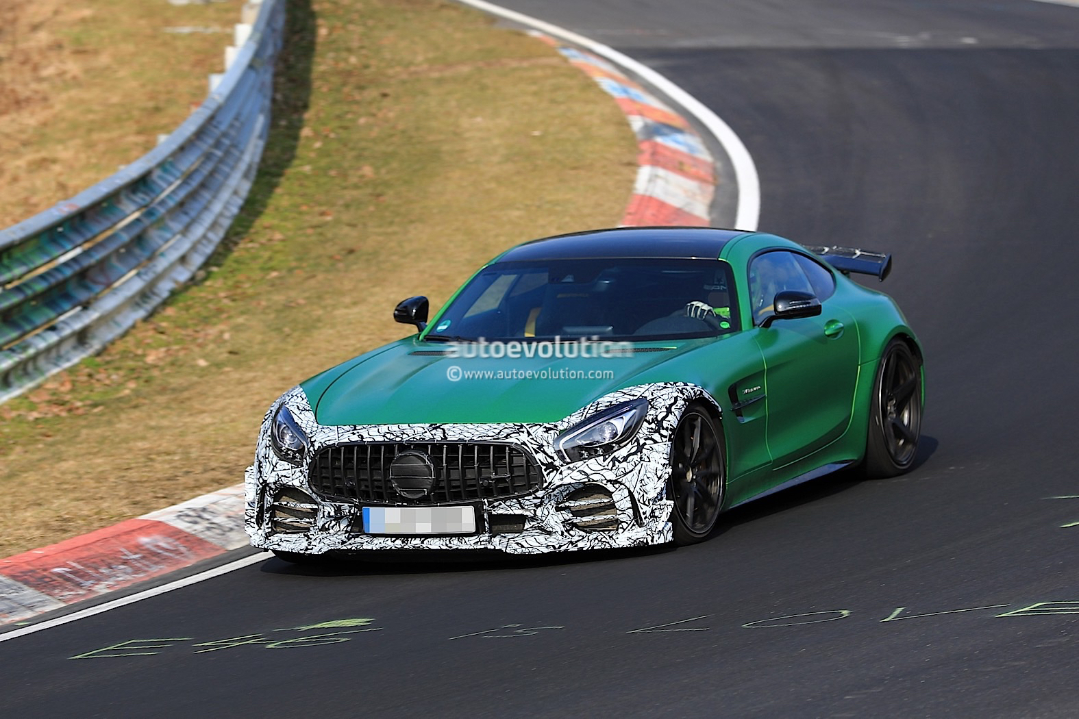 Spyshots Mysterious Mercedes Amg Gt R Prototype Spotted