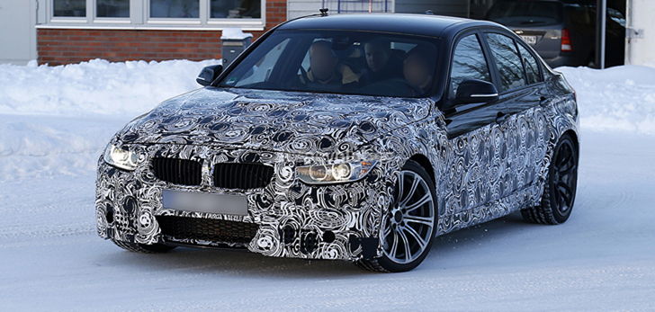 Spyshots: New 2014 BMW M3 Snow Fun