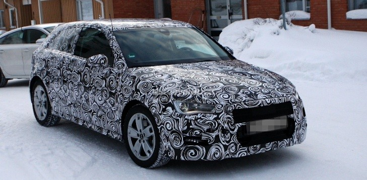 Spyshots: New Audi A3 Almost Ready for Unveiling