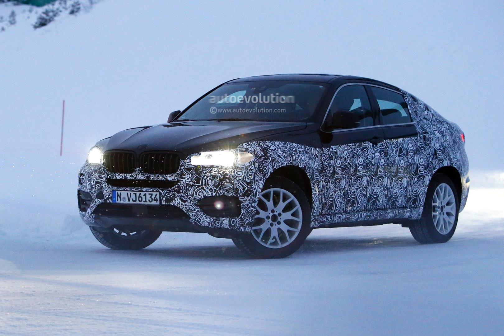 Spyshots New Bmw X6 Braves The Cold In Sweden Autoevolution