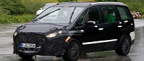 Spyshots: New Ford Galaxy