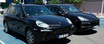 Spyshots: New Images of 2015 Porsche Cayenne Facelift