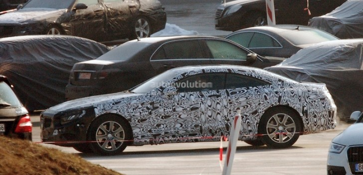 Spyshots: New Mercedes S-Class Coupe First Photos