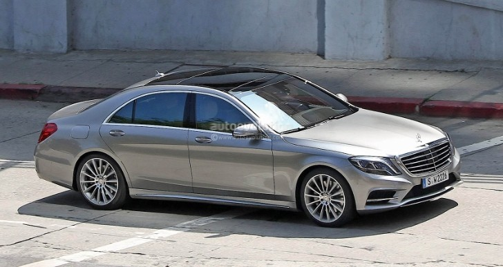 Spyshots: 2014 Mercedes S-Class Totally Undisguised