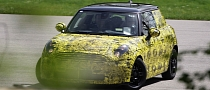 Spyshots: New MINI Cooper with Less Camo