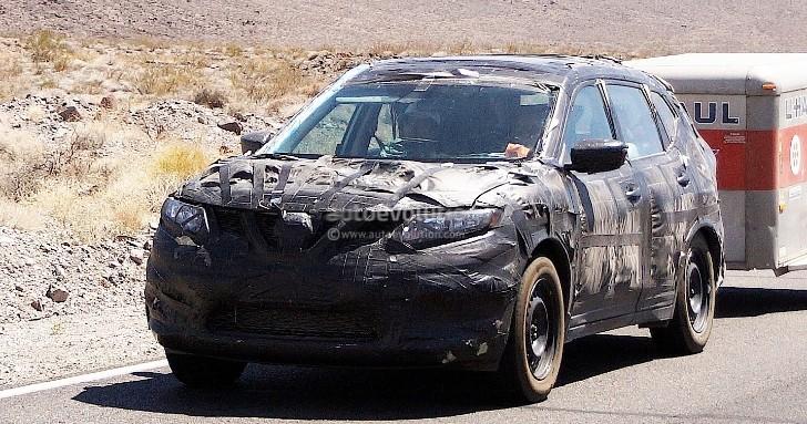 Spyshots New Nissan Rogue European X Trail Autoevolution