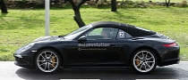 Spyshots: New Porsche 911 Targa Spotted Again