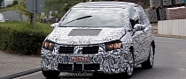Spyshots: New Volkswagen Golf Plus