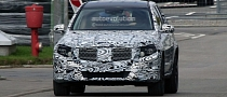 Spyshots: Next Generation Mercedes GLK