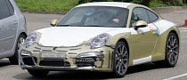 Spyshots: Next-Generation Porsche 911 Dress Rehearsal