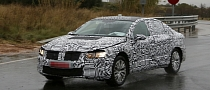 Spyshots: Next Generation VW Passat Sedan and Estate Spotted Again