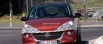 Spyshots: Opel Adam OPC or New SIDI Turbo?