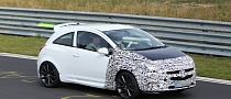 Spyshots: Opel Corsa OPC Facelift Testing for 2014 Debut