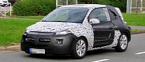 Spyshots: Opel Junior on the Road